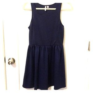 Frenchi navy mini dress